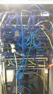 Patch Panel Before